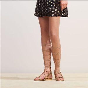 Aldo gold gladiator sandal